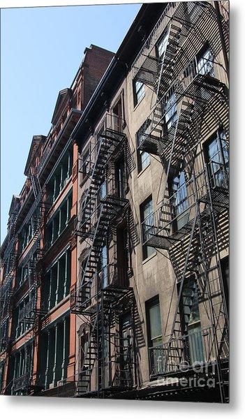 New York Apartments  Metal Print