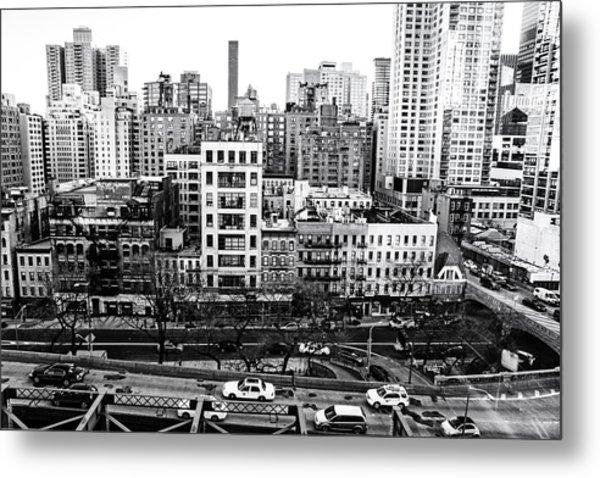 New York City - Above It All Metal Print
