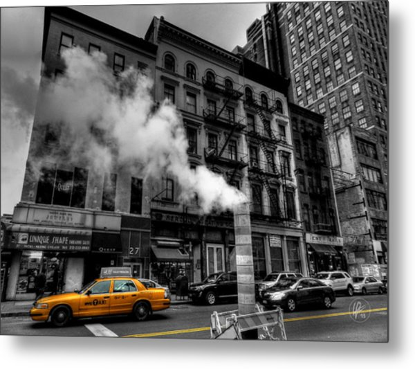 New York City - Lower Manhattan 006 Metal Print