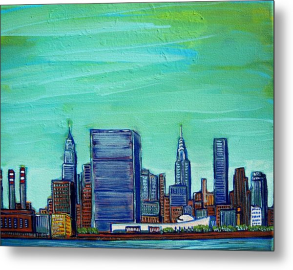 New York City Midtown Metal Print by Mitchell McClenney