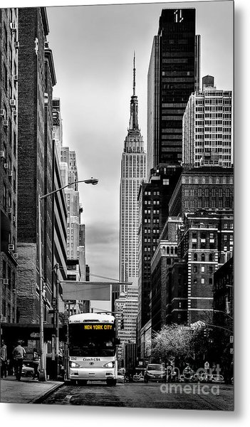 New York Express Metal Print