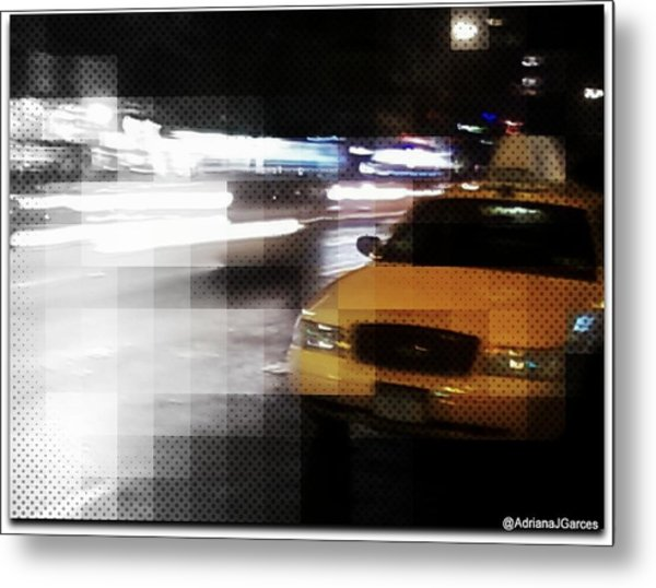 New York Fashion Avenue  Metal Print by Adriana Garces