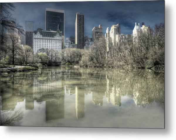 New York Manhattan Metal Print