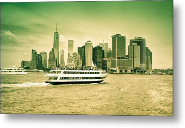 New York Metropolitan Metal Print