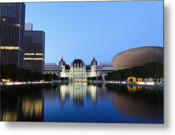New York State Capitol Metal Print
