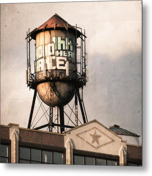 New York. Water Towers 6 Metal Print