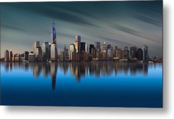 New York World Trade Center 1 Metal Print by Yi Liang