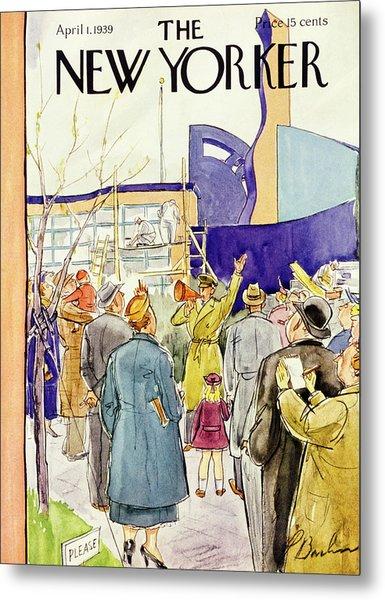 New Yorker April 1 1939 Metal Print