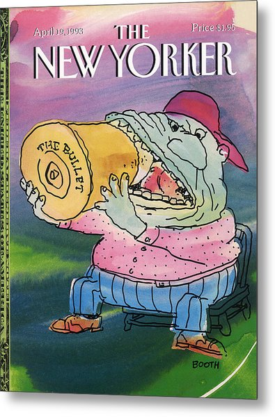 New Yorker April 19th, 1993 Metal Print