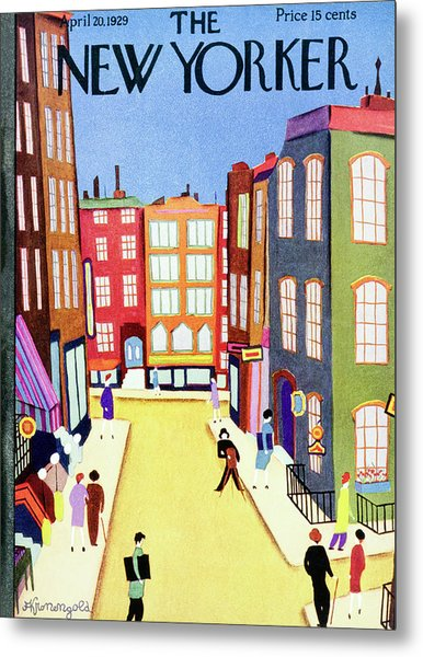 New Yorker April 20 1929 Metal Print by Arthur K. Kronengold