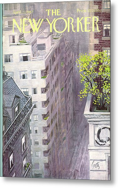 New Yorker April 22nd, 1967 Metal Print
