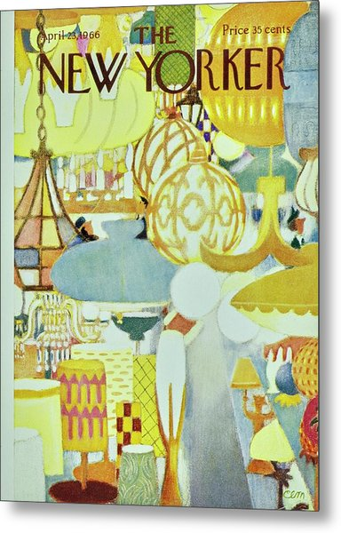 New Yorker April 23rd 1966 Metal Print by Charles Martin
