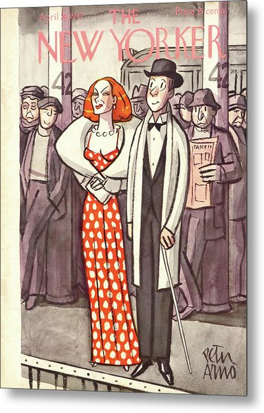 New Yorker April 24th, 1937 Metal Print