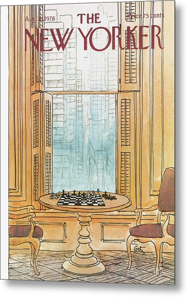 New Yorker August 30th, 1976 Metal Print
