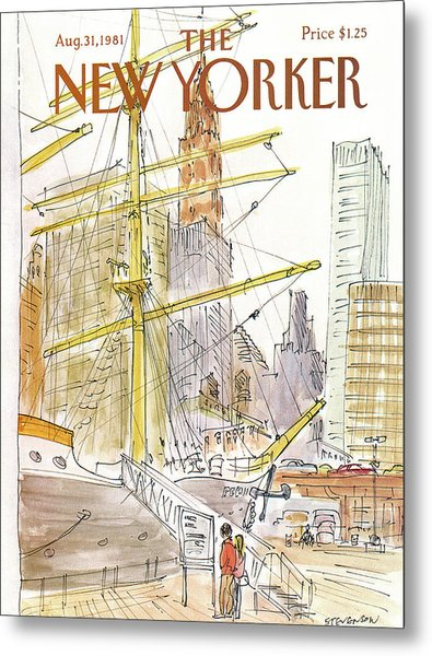 New Yorker August 31st, 1981 Metal Print
