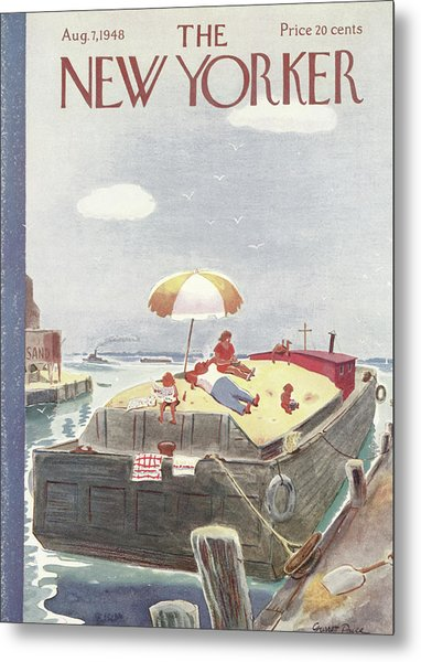 New Yorker August 7th, 1948 Metal Print