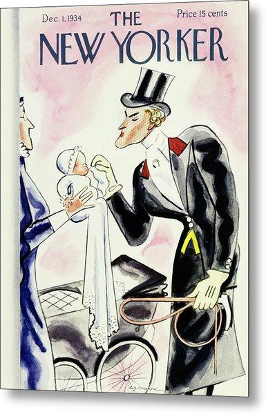New Yorker December 1 1934 Metal Print