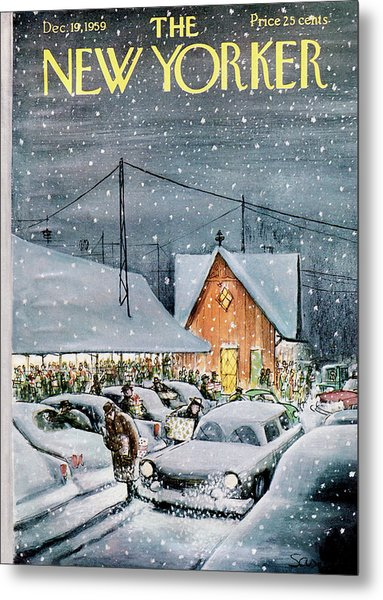 New Yorker December 19th, 1959 Metal Print