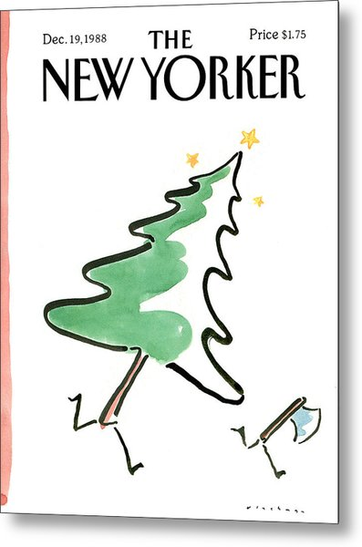 New Yorker December 19th, 1988 Metal Print