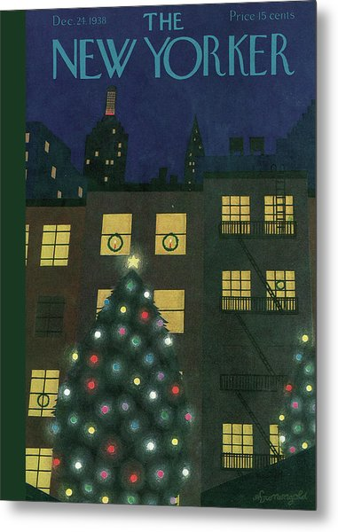 New Yorker December 24th, 1938 Metal Print