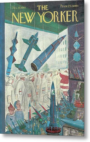 New Yorker December 9th, 1961 Metal Print