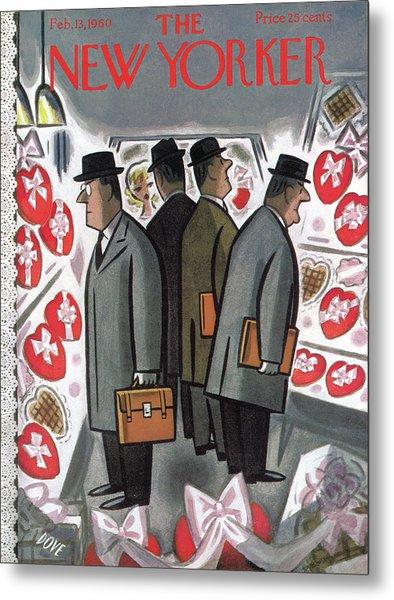 New Yorker February 13th, 1960 Metal Print