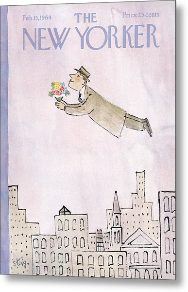 New Yorker February 15th, 1964 Metal Print