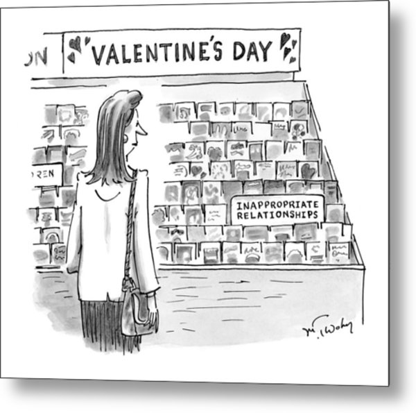 New Yorker February 15th, 1999 Metal Print