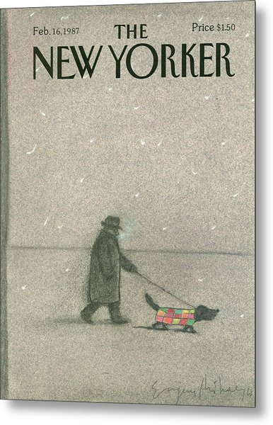New Yorker February 16th, 1987 Metal Print