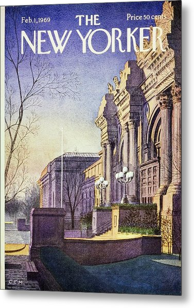 New Yorker February 1st 1969 Metal Print by Charles Martin