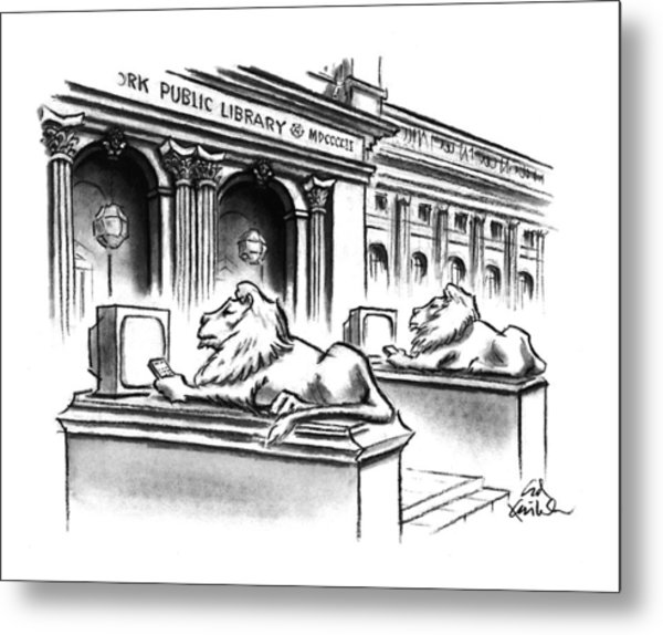 New Yorker February 1st, 1993 Metal Print