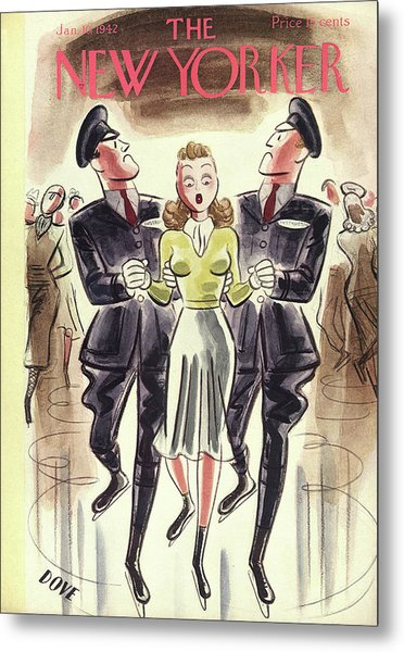 New Yorker January 10th, 1942 Metal Print