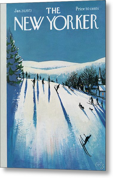 New Yorker January 20th, 1973 Metal Print