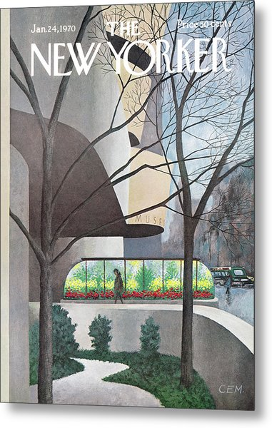 New Yorker January 24th, 1970 Metal Print
