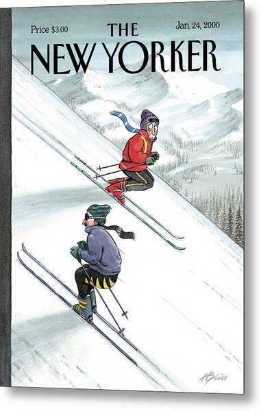 New Yorker January 24th, 2000 Metal Print