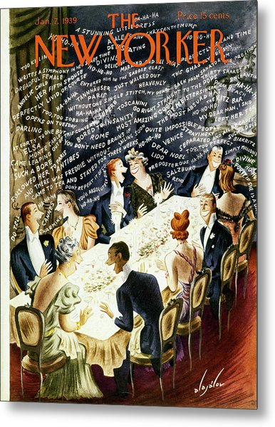 New Yorker January 7 1939 Metal Print