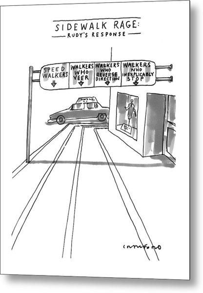New Yorker July 12th, 1999 Metal Print