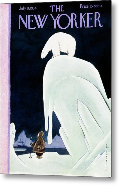 New Yorker July 14 1934 Metal Print