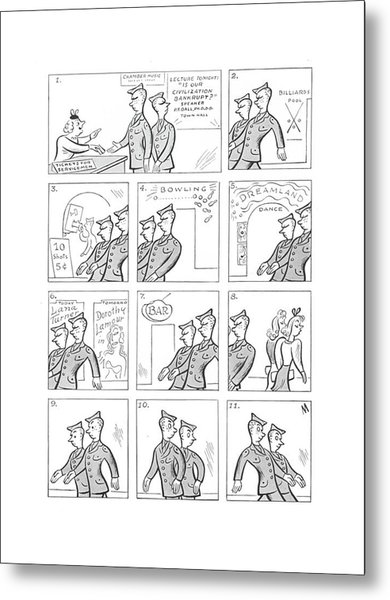 New Yorker July 17th, 1943 Metal Print