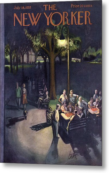 New Yorker July 18th, 1953 Metal Print
