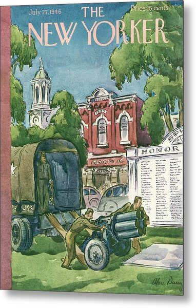 New Yorker July 27th, 1946 Metal Print