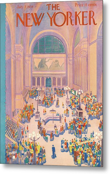 New Yorker July 7th, 1934 Metal Print
