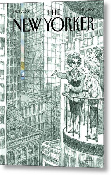 New Yorker June 11th, 2001 Metal Print