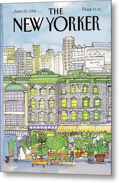 New Yorker June 25th, 1984 Metal Print