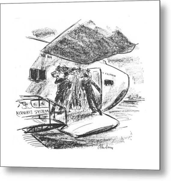 New Yorker June 26th, 1943 Metal Print