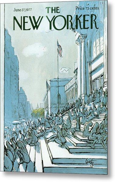 New Yorker June 27th, 1977 Metal Print