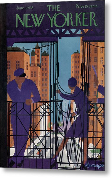 New Yorker June 3rd, 1933 Metal Print