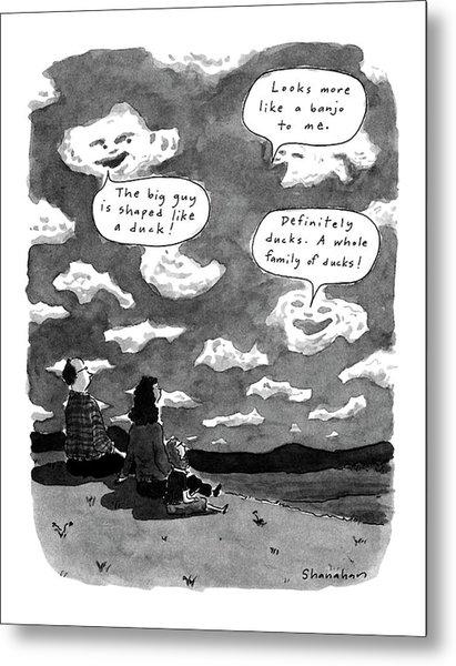 New Yorker June 3rd, 1991 Metal Print