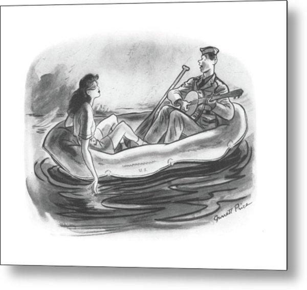 New Yorker June 6th, 1942 Metal Print
