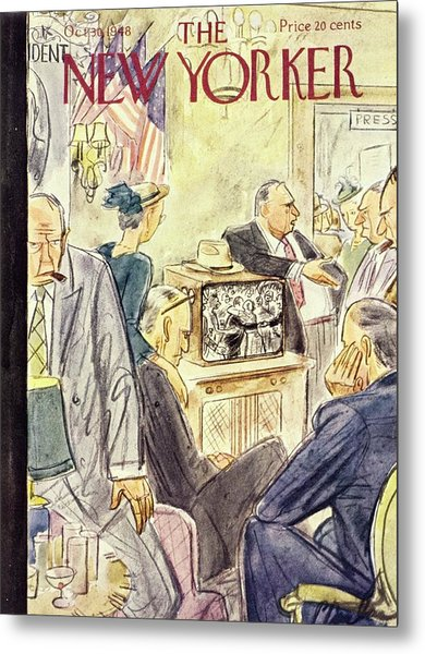 New Yorker October 30 1948 Metal Print